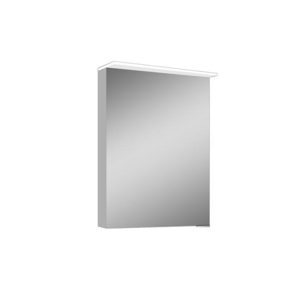 Paseo 19.625 in. x 27.625 Lighted Impressions Frameless Surface-Mount LED Mirror Medicine Cabinet