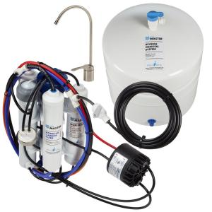 Home Master Ultra with Permeate Pump Loaded Under Sink Reverse Osmosis Water Filter System by Home Master
