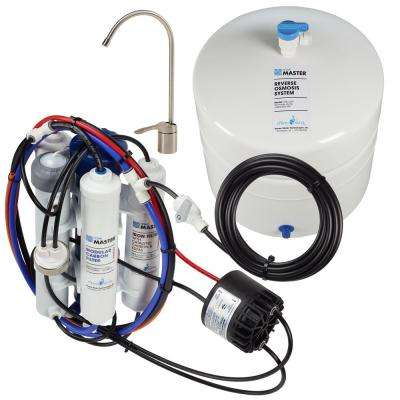 Ultra with Permeate Pump Loaded Under Sink Reverse Osmosis Water Filter System