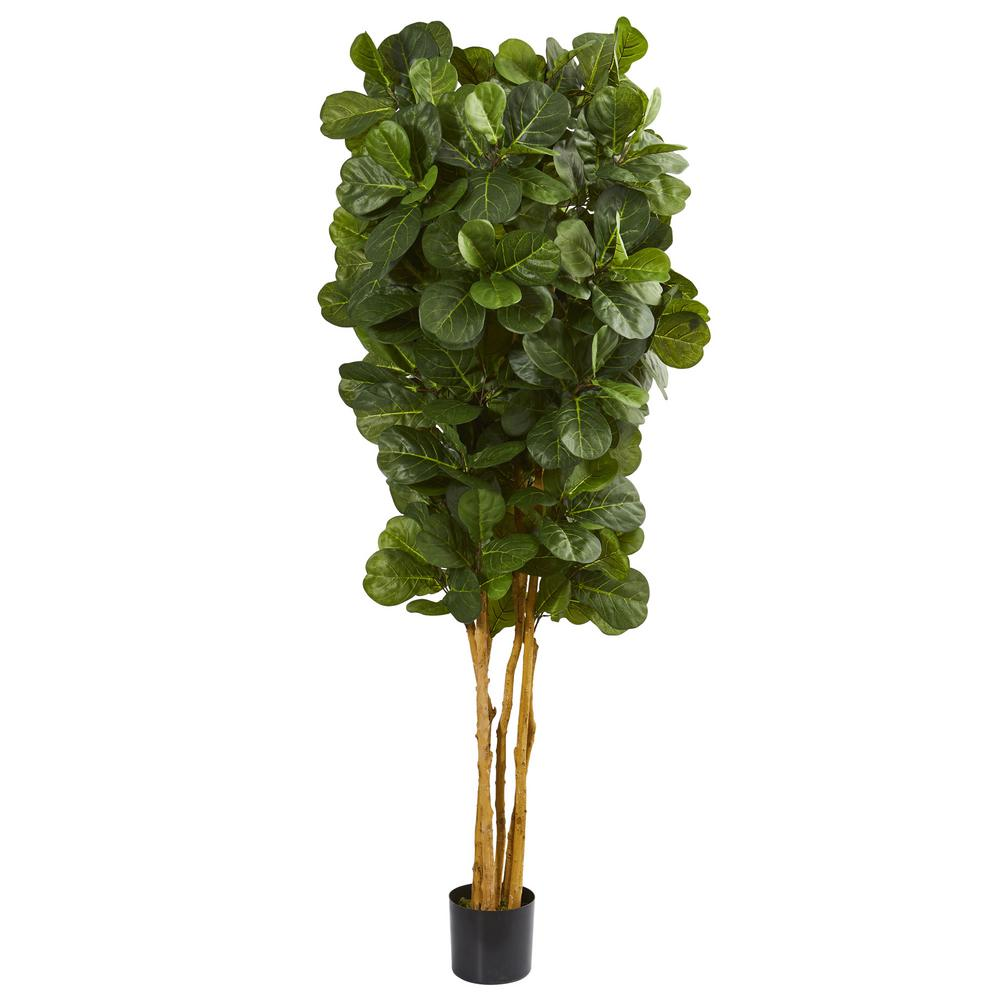Nearly Natural 7 Ft Fiddle Leaf Fig Artificial Tree 5488