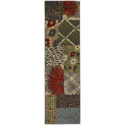 Emporia Patchwork Saddle 2 ft. 1 in. x 7 ft. 10 in. Runner