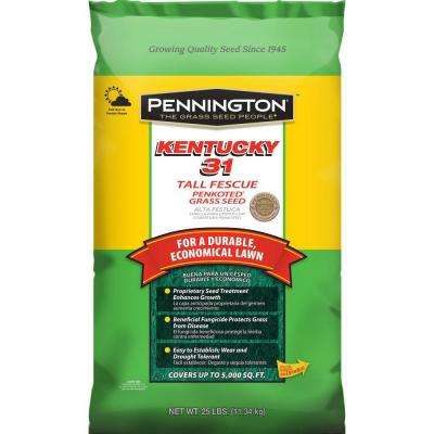 25 lbs. Kentucky 31 Tall Fescue Penkoted Grass Seed
