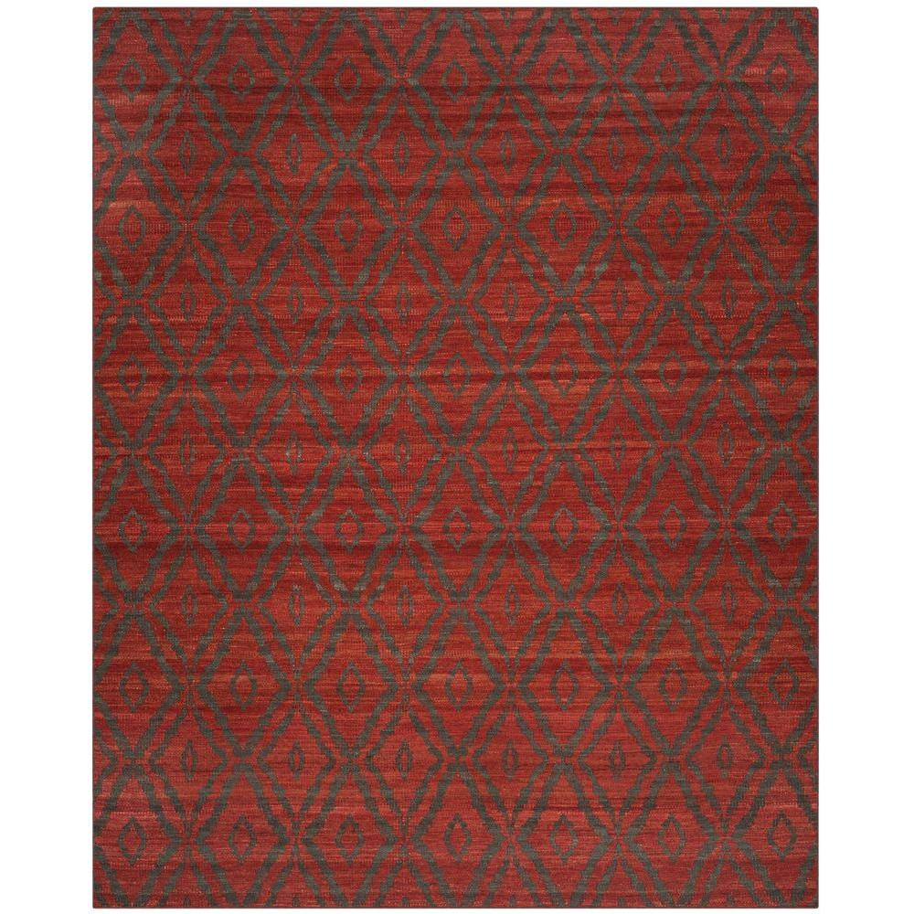 Red 8x10 Area Rug Designs