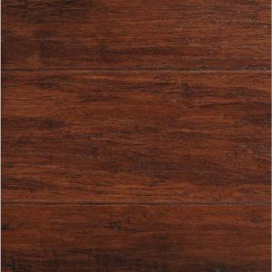 100 Bamboo Floor Home Depot Home Legend Horizontal Dark Truffle 5 8 In Thick X 5 In Wide