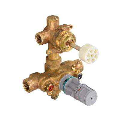 Thermostatic 2-Way Diverter 1/2 in. Rough Valve Body for 2-Handle Trim