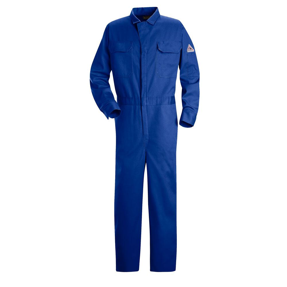1211953364a5 Bulwark EXCEL FR Men s Size 62 Navy Deluxe Coverall-CED2NV RG 62 ...