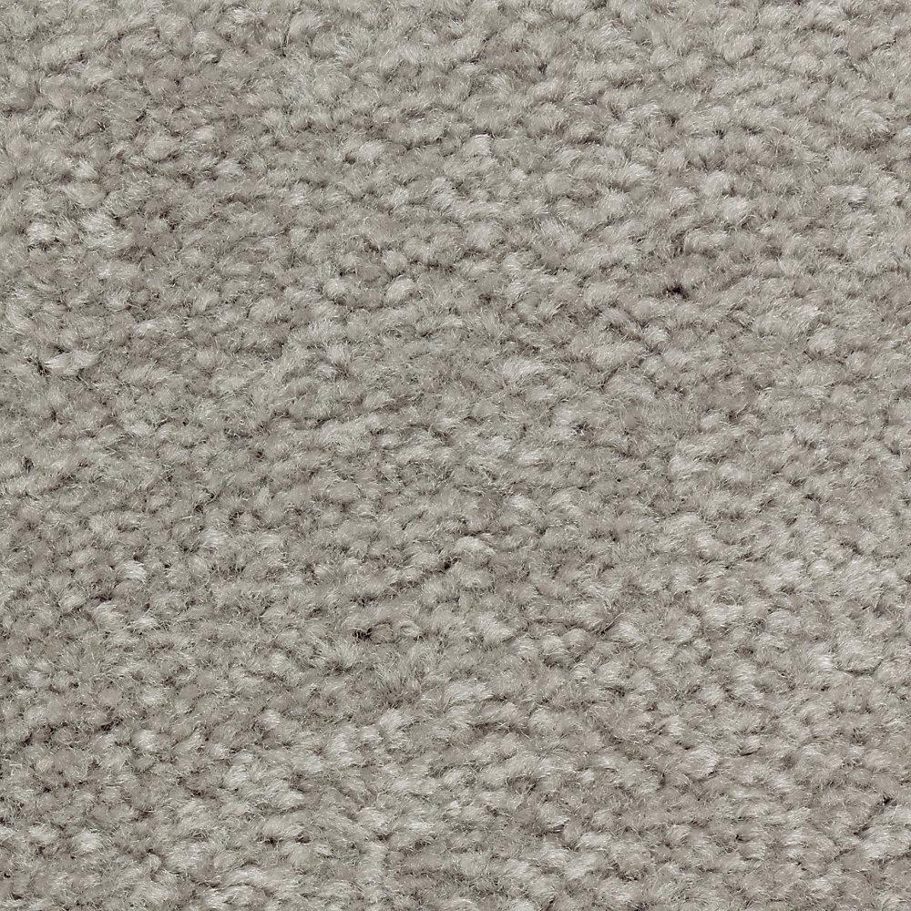Carpet Sample - Mason I - Color Tavertine Texture 8 in. x 8 in.
