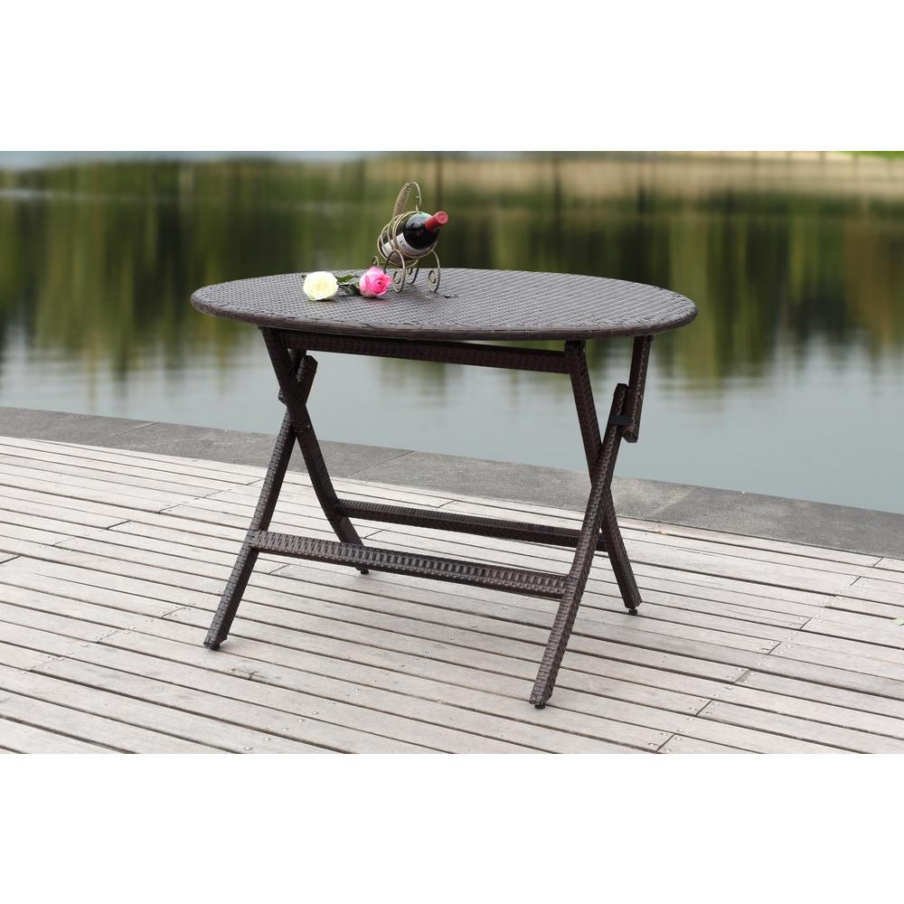 steel round co black table folding bk square gg chairs indoor back patio set with outdoor