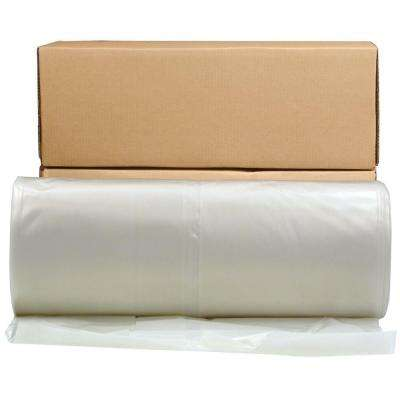 24 ft. x 100 ft. Clear 6 mil Plastic Sheeting