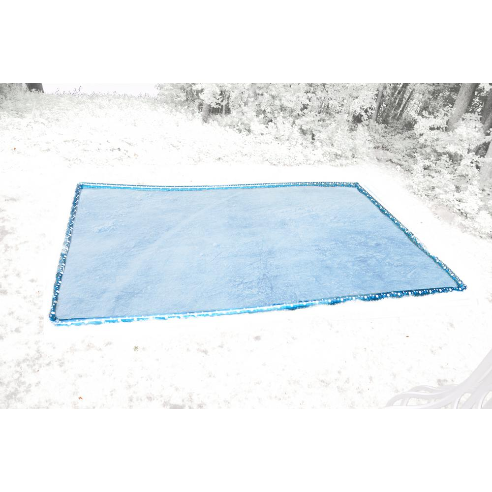 rave sports 15 ft x 24 ft inflatable ice rink 02723 the home depot