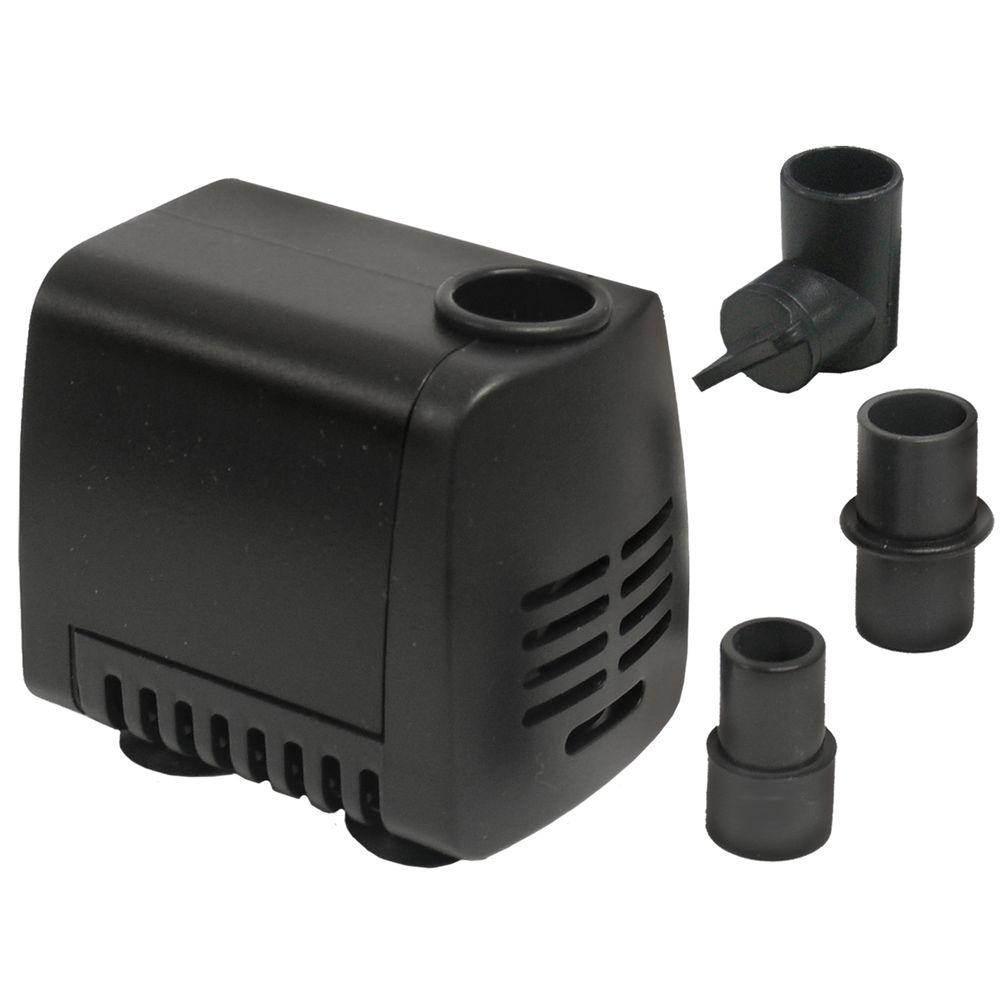 80 Gph Submersible Fountain Pump