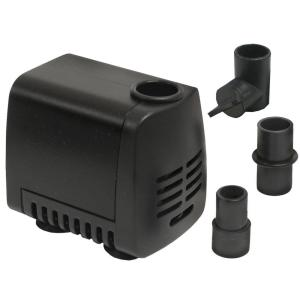 Click here to buy Beckett 80 GPH Submersible Fountain Pump by Beckett.
