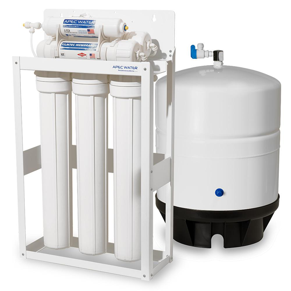Ultimate Indoor Reverse Osmosis 180 GPD Commercial-Grade Drinking Water