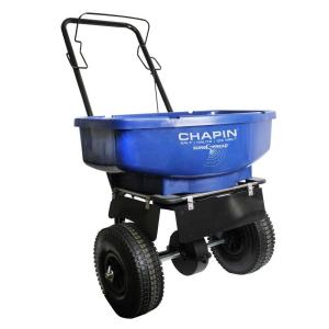 Chapin 80 lb. Assembled Ice Melt Broadcast Spreader by Chapin