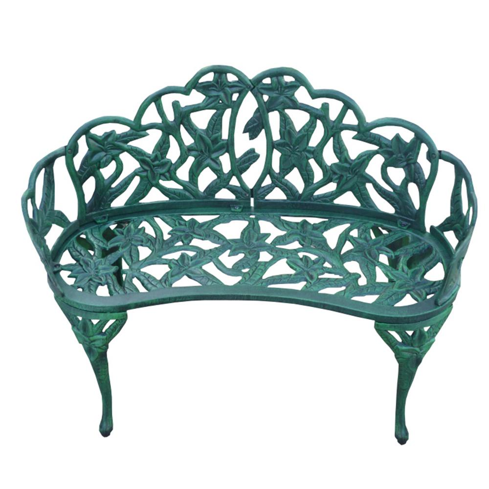 Lily Garden Decor Bench