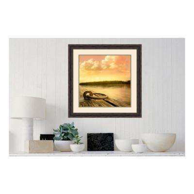28.38 in. W x 28.38 in. H Dockside by PI Studio Printed Framed Wall Art