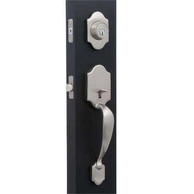 Springfield Satin Nickel Mushroom Door Handleset
