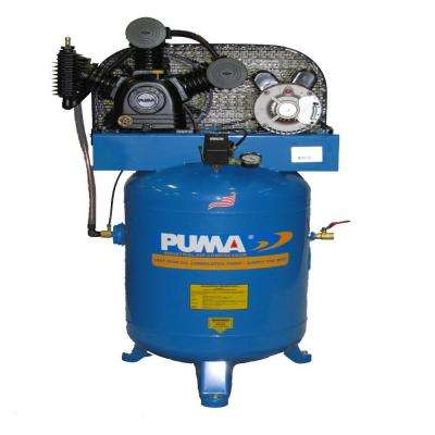 40 Gal. 5 HP Electric 2 Stage Air Compressor