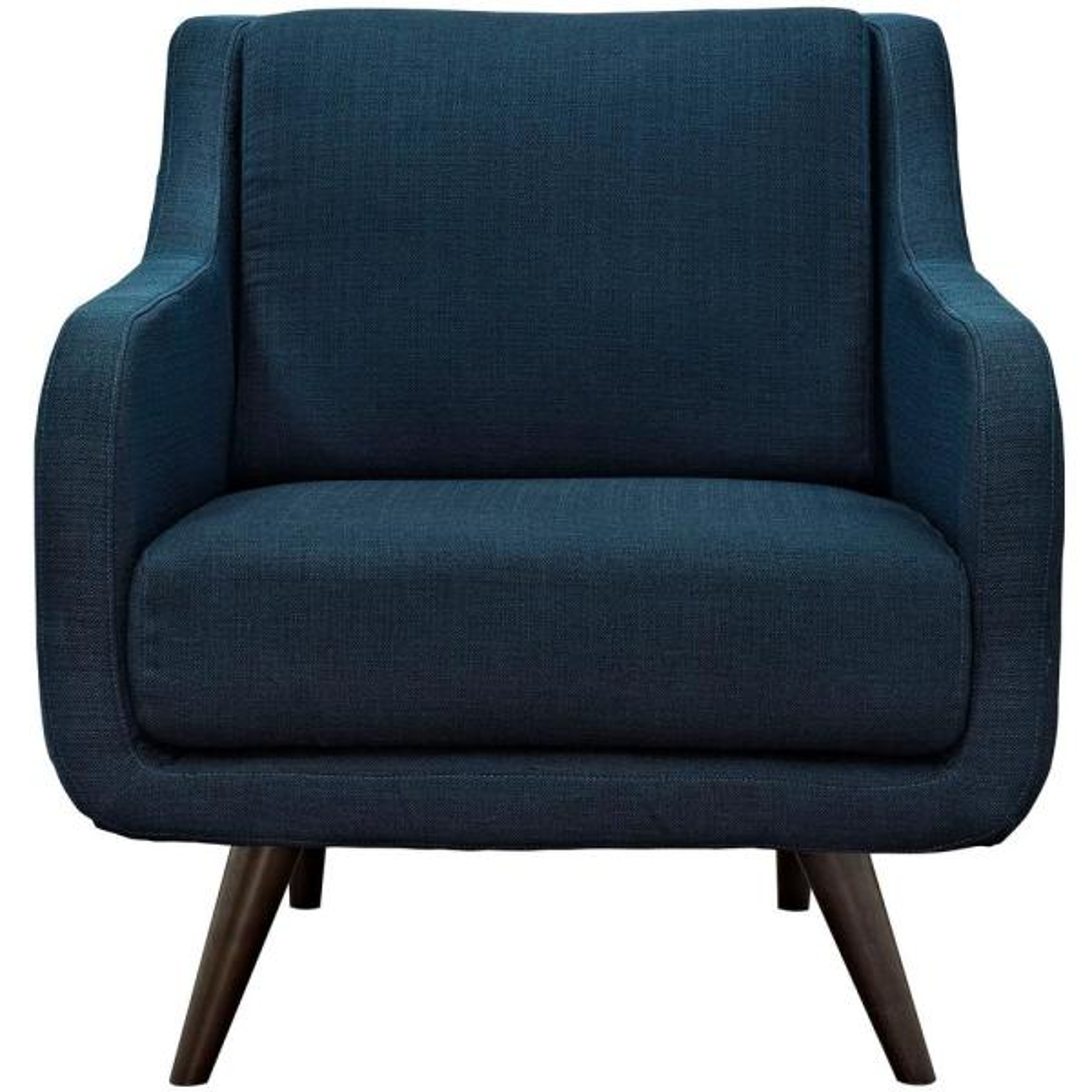 MODWAY Verve Azure Upholstered Fabric Armchair EEI-2128-AZU