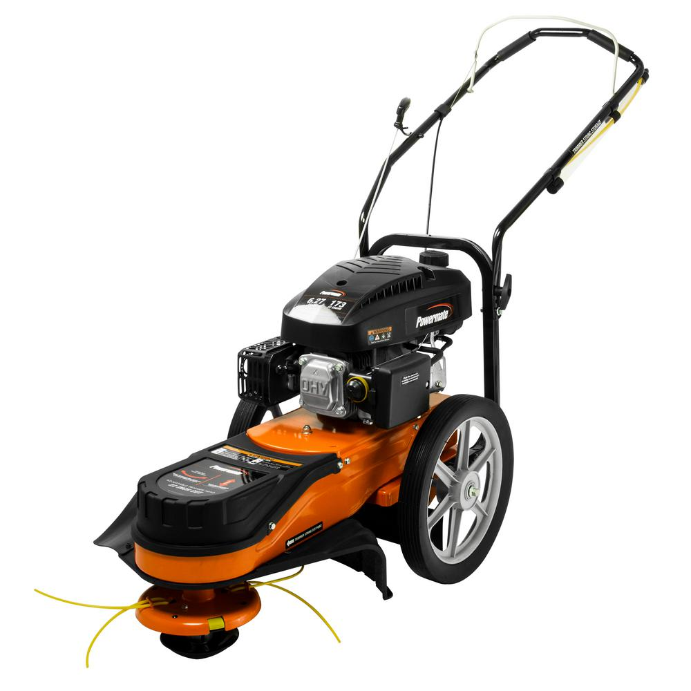 Powermate 22 In 173cc Gas Walk Behind Field String Trimmer Mower