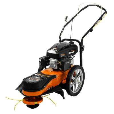 22 in. 173cc Gas Walk-Behind Field String Trimmer Mower with Adjustable Trimmer Head