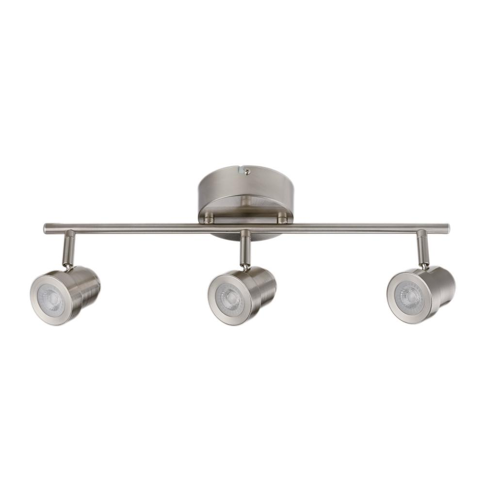 Globe Electric Hunter Collection 3 Light Brushed Nickel