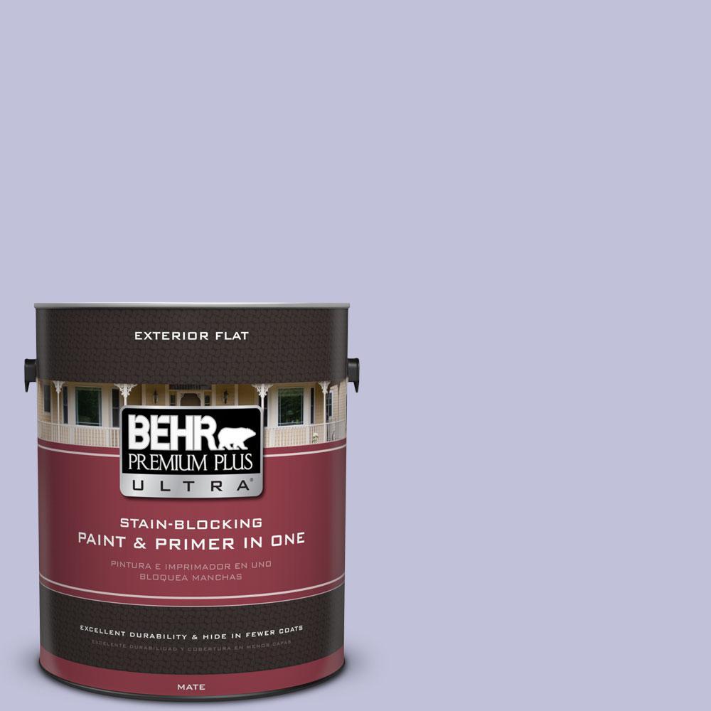 BEHR Premium Plus Ultra 1-gal. #M550-3 Foxglove Flat Exterior Paint