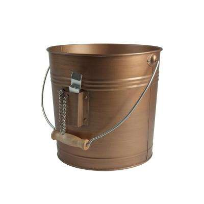Beverage Pail Handle 10 in. Dia 8 in. H Antique Copper, Comes with Attached Bottle Opener On A Chain