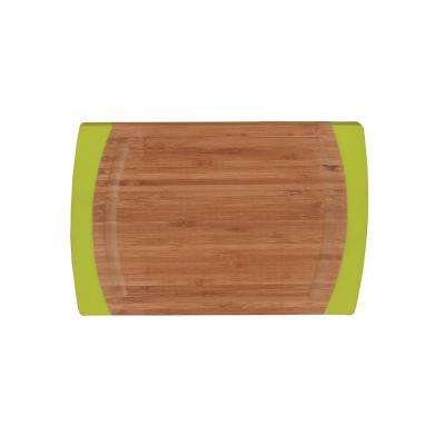 Studio Large Rounded Bamboo Chopping Board