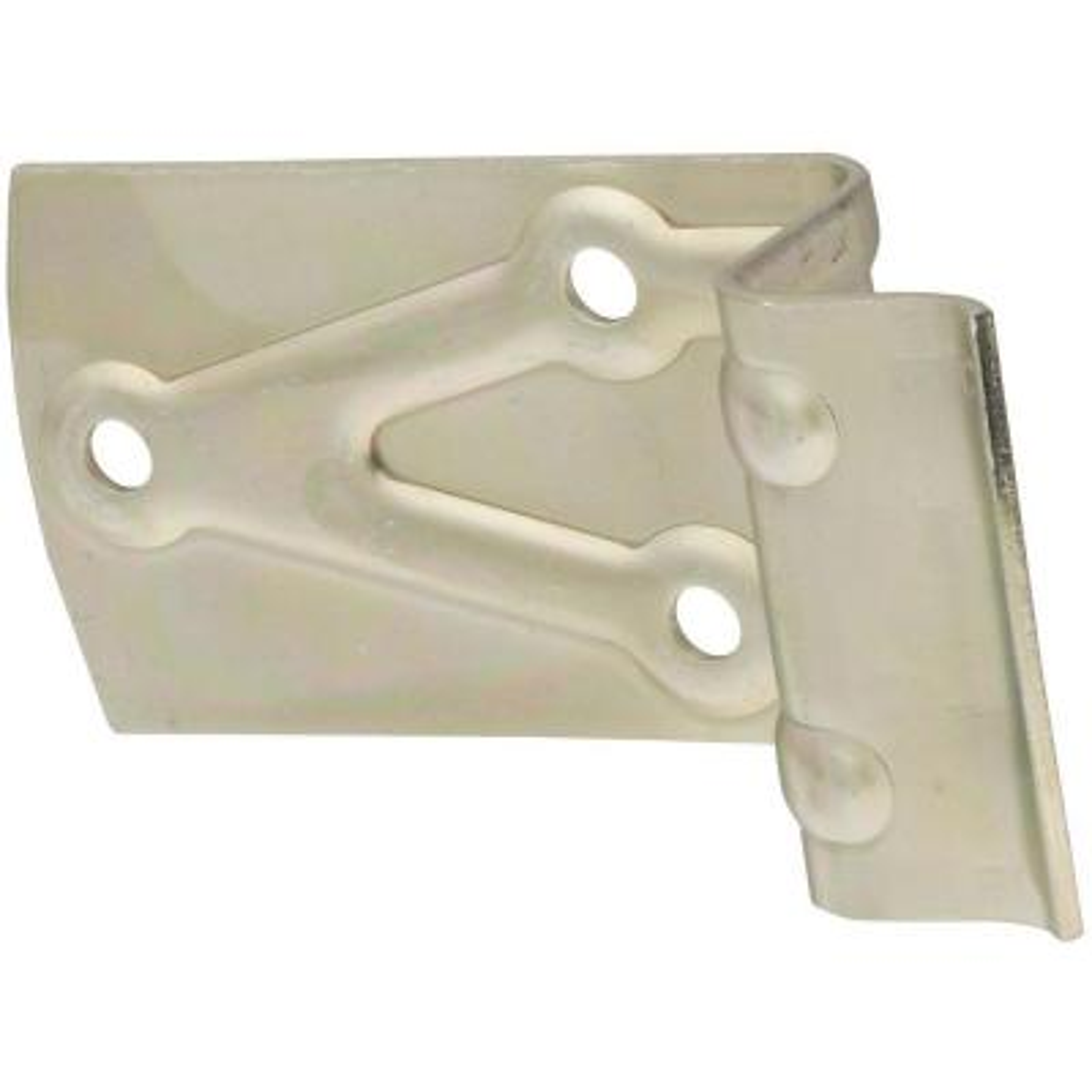 Zinc Plated Metal Door Bumpers for 2 in. Doors