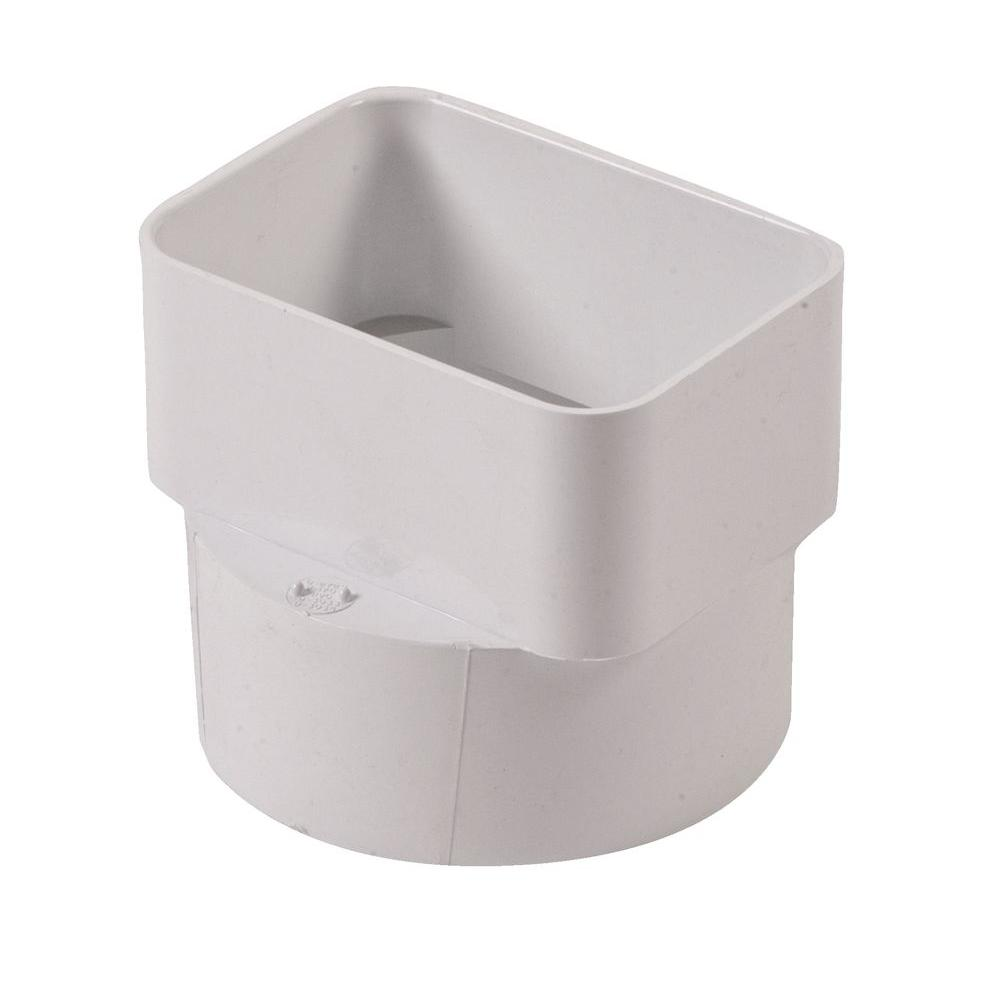 Nds in styrene downspout adapter g