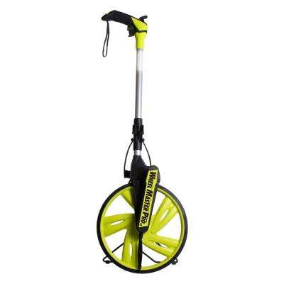 Wheel Master Pro 12.5 in. Measuring Wheel with Backpack Carrying Case