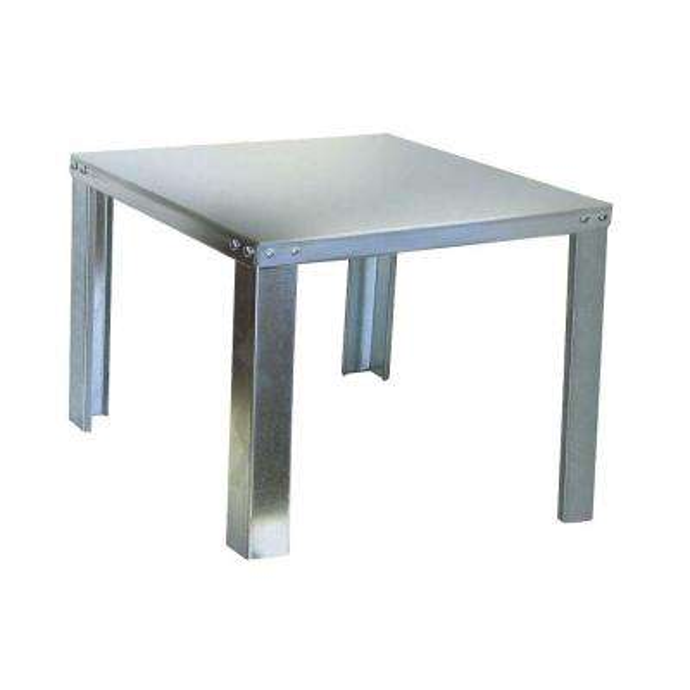 22 in. Galvanized Steel Water Heater Stand