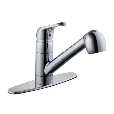 825 Series Single-Handle Pull-Out Sprayer Kitchen Faucet in Chrome