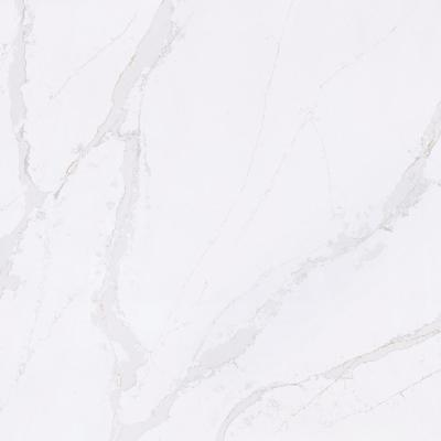Calacatta Gold Quartz Countertop Sample (4 in. x 8 in.)