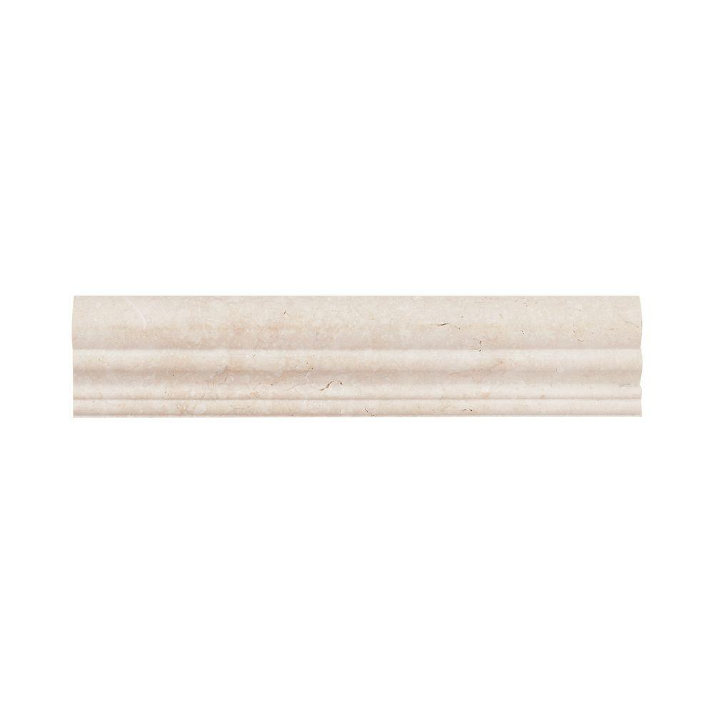 Jeffrey Court Giallo Crown 2 in. x 12 in. Travertine Accent Trim