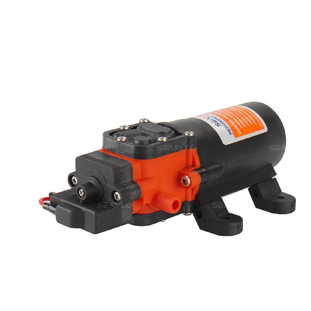 1.2 GPM 0.4 HP Water Pressure Diaphragm Pump