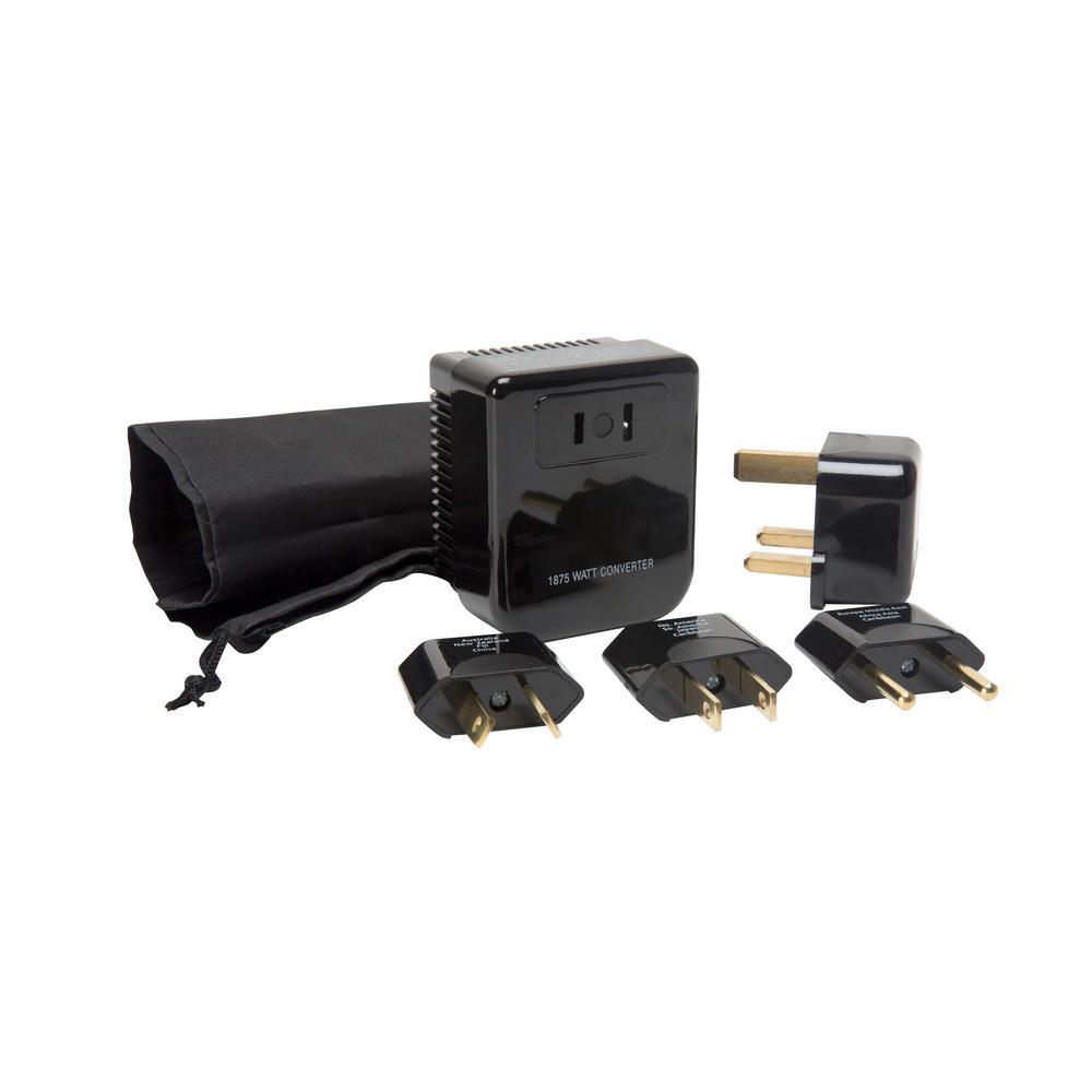6-Piece Travel Converter and Plug Set