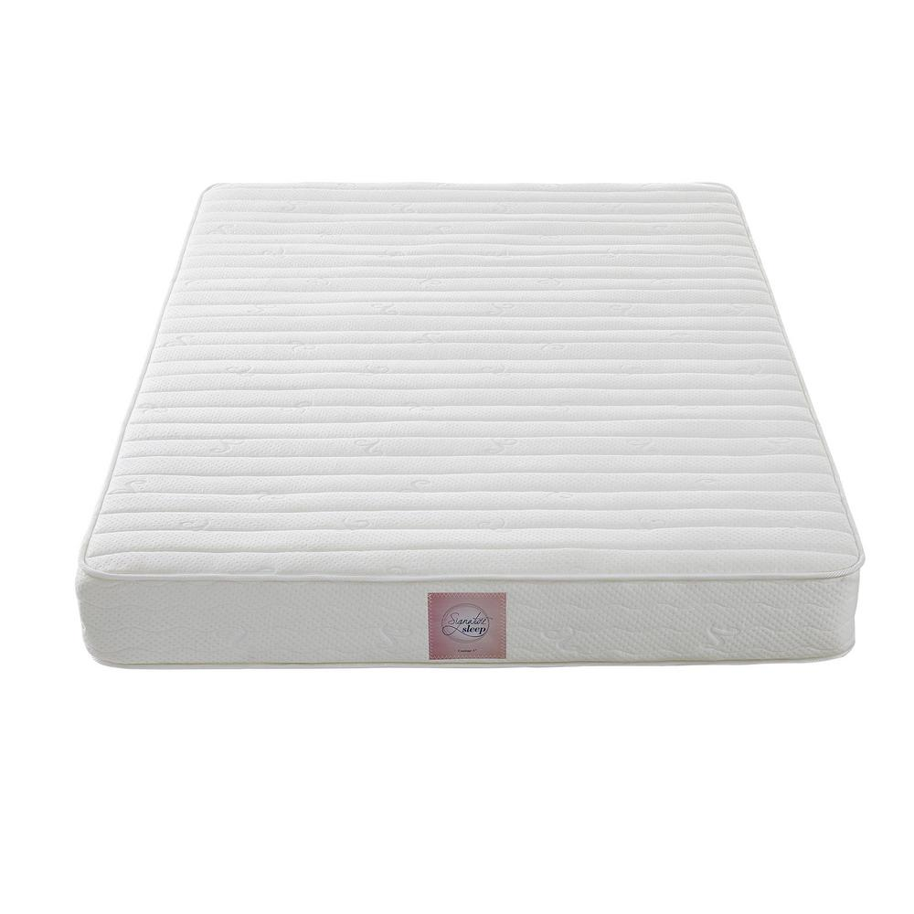 Signature Sleep Essence Twin Size 8 In Reversible Independently Encased Coil Mattress With Certipur