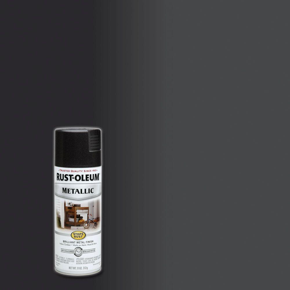 11 oz. Metallic Black Night Protective Spray Paint