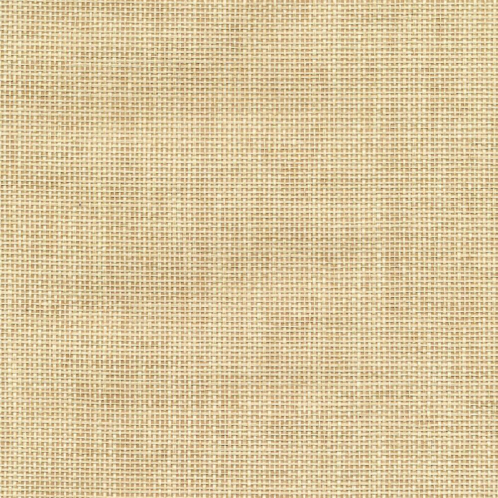 Grasscloth Wallpaper Samples: Kenneth James Pavel Sand Grasscloth Wallpaper Sample-2622