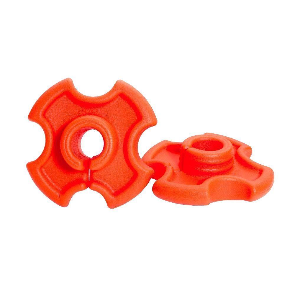 Orange Shaft Dampener Vibration Killer for Weed Trimmers and Brush Cutters (2-Pack)