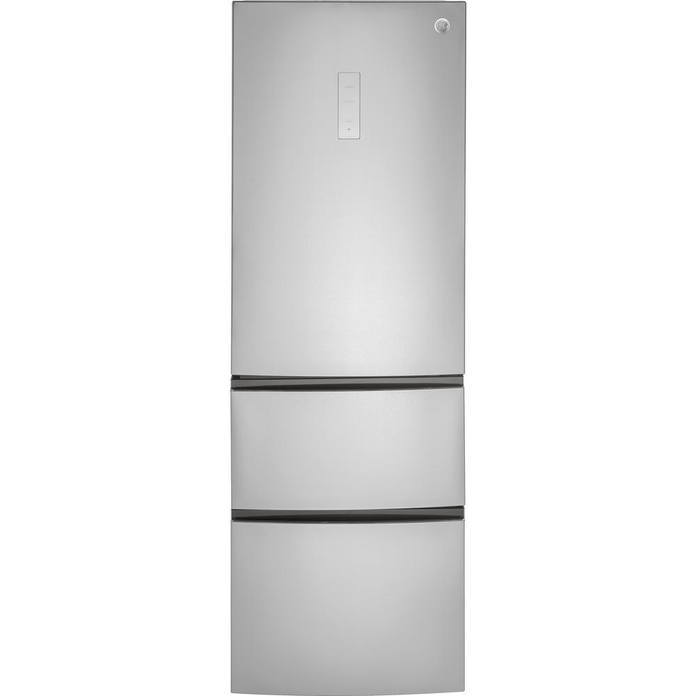 11.9 cu. ft. Bottom-Freezer Refrigerator in Stainless Steel