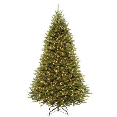 7.5 ft. PowerConnect Kingswood Fir Artificial Christmas Tree with Dual Color LED Lights