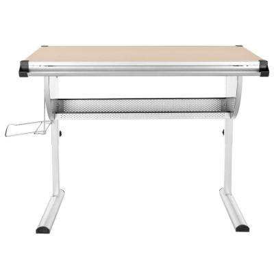 Emerson Natural and Silver Desk