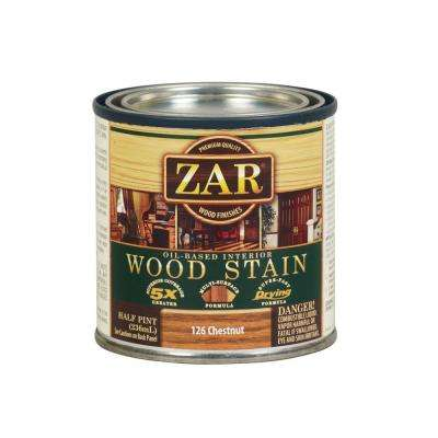 126 0.5 pt. Chestnut Wood Stain (2-Pack)