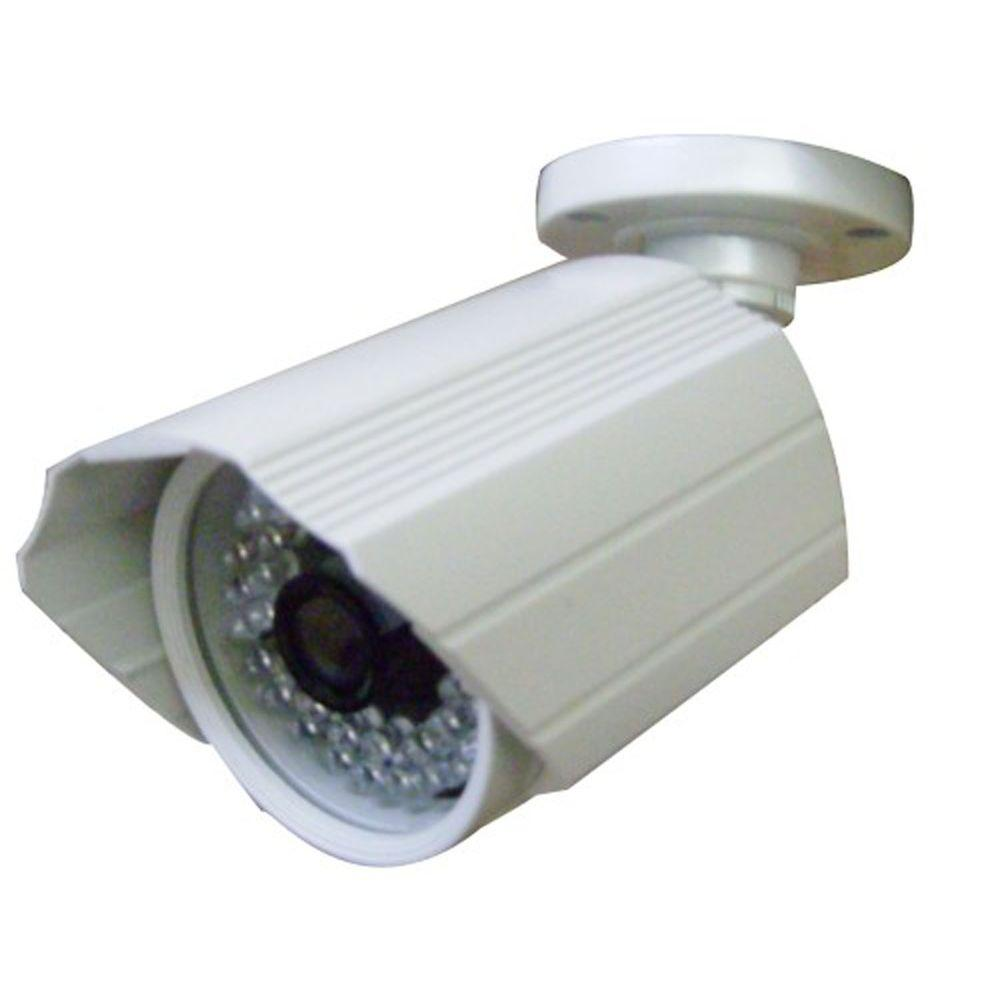 SeqCam Wired Weatherproof 540TVL Indoor or Outdoor Bullet Standard Surveillance Camera with 65 ft. Night Vision