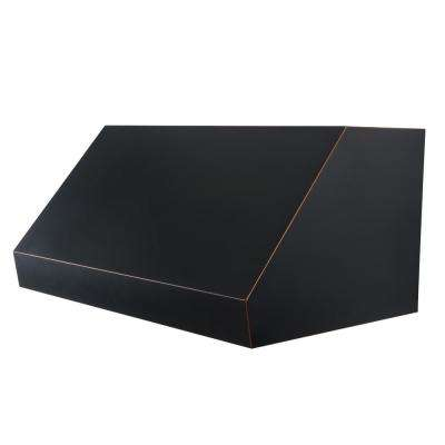 ZLINE 36 in. 1200 CFM Under Cabinet Range Hood in Oil-Rubbed Bronze with Copper Accents
