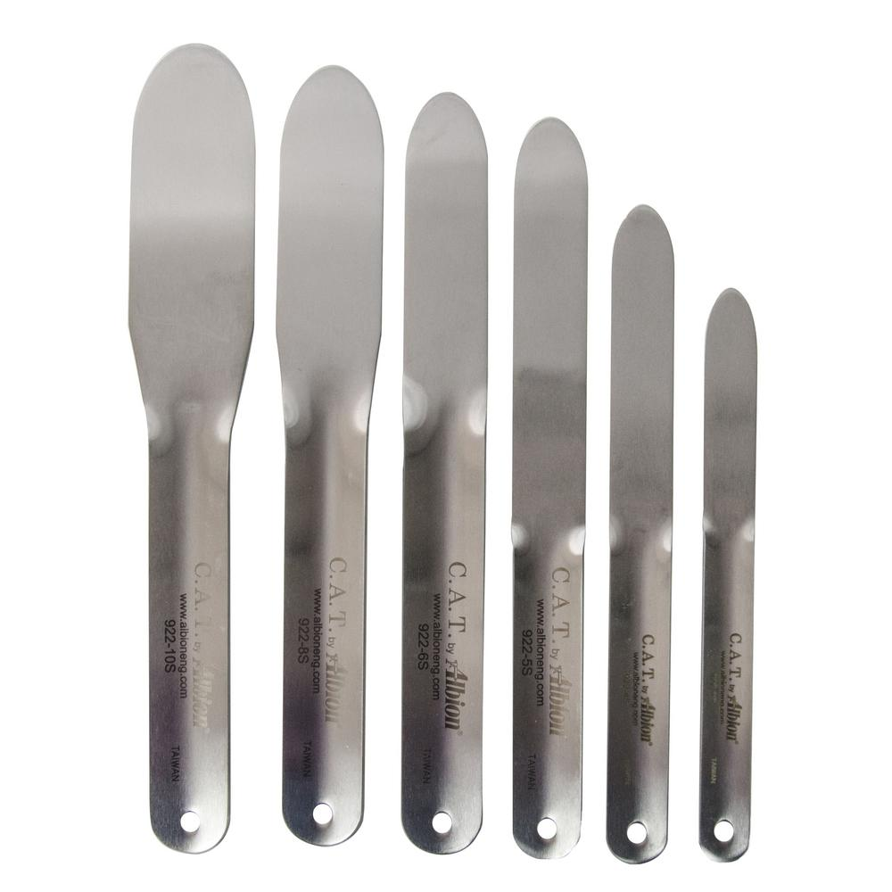 Bon Tool Stainless Steel Caulking Spatula Set for Mortar ...