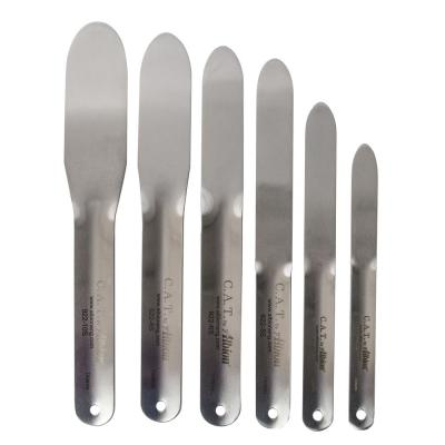 Stainless Steel Caulking Spatula Set for Mortar Joint Sealant (6-Piece)